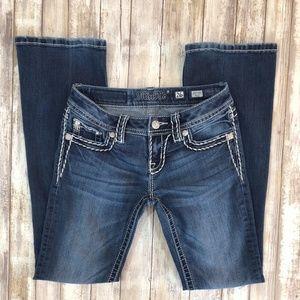 Miss Me Signature Boot Cut Jeans Size 26 6415